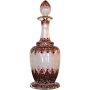 Antique European Art Glass Decanter