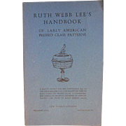 Early American Pressed & Victorian Glass Ruth Webb Lee