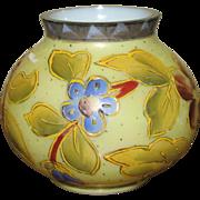 Small Victorian Enameled Webb Type Vase