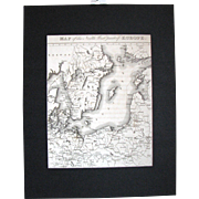 """Map of North West Part of Europe"""" 1815"""