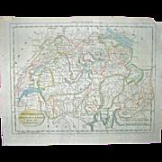 Map Switzerland – 1789 – Thomas & Andrews