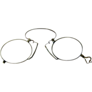 1890's Antique Lorgnette Eyeglasses - Vermont