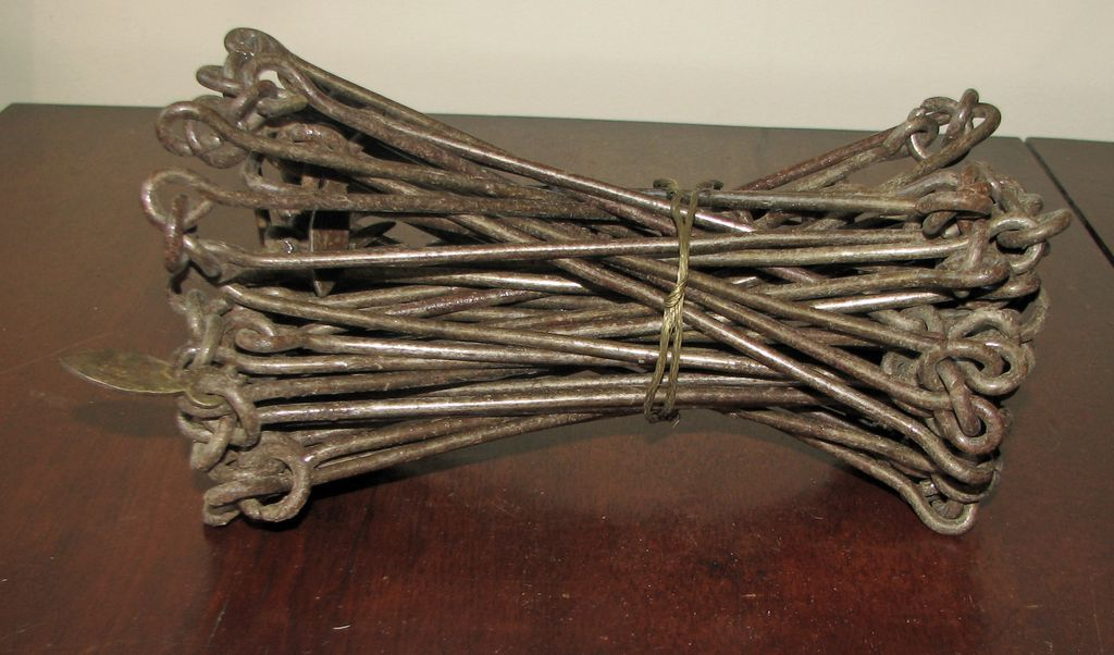 Antique Surveyor S Chain 33 50 Links 2 Rods Sold On
