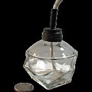 "Large Mini Whale Oil Lamp – 4 ¼"" Tall"