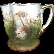 "Royal Bayreuth ""Tapestry"" Porcelain Cream Pitcher"