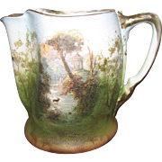 "Royal Bayreuth ""Tapestry"" Porcelain Cream Pitcher"