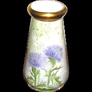 """Antique 6 ½"""" Bavarian Porcelain Vase"""