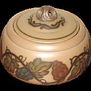 Early Lidded Pot by L. Hjorth,  Denmark  Ca 1927