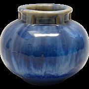 Antique Fulper Art Pottery Vase - Blue Flambe - 1910-1916