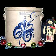 Three-Gallon Stoneware Crock – Frank B. Norton