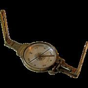 Rare Mid 19th Century Surveyor's Vernier Compass by Gennert & Holzke.