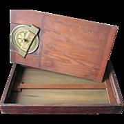 "Rare 19th c. Boxed ""Circumfercenter"" – ""The Surveyors' Assistant"""
