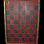 Wonderful Antique Handpainted Game Board