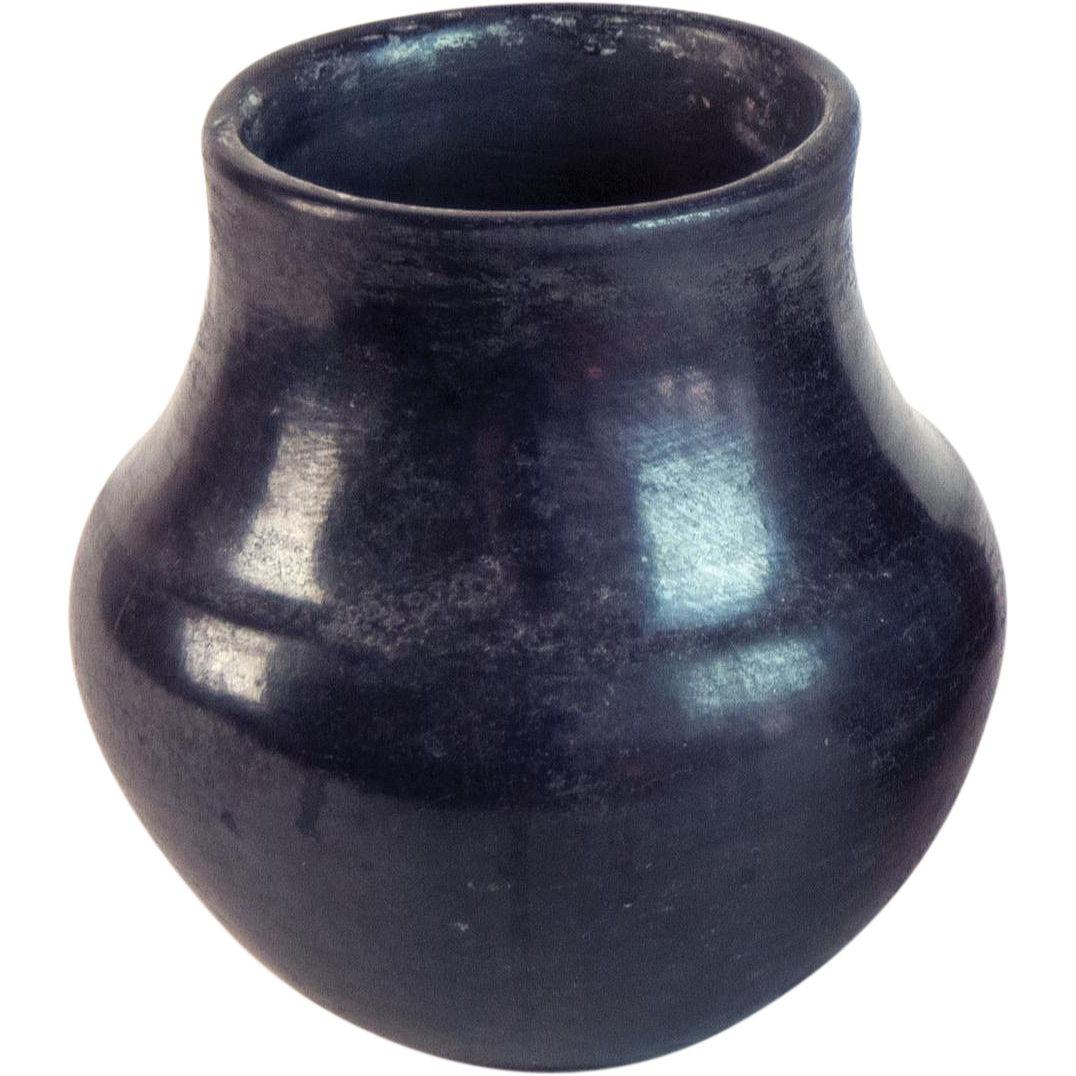 Old Native American Pottery San Ildefonso From Vanbibber