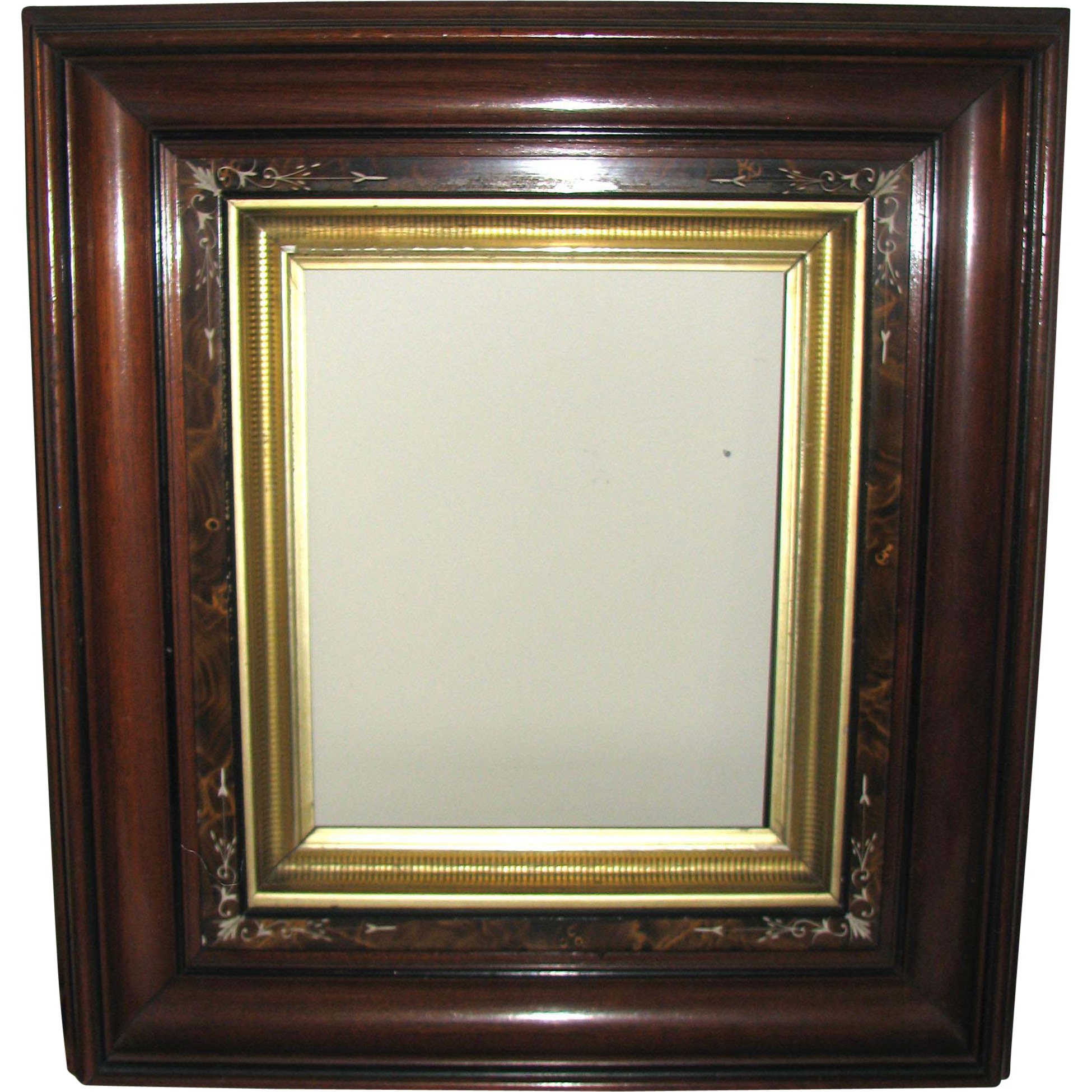 Gilt and Decorated Wooden Victorian Picture Frame from ...