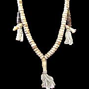 Antique mala Beads circa 1876-1879 carved from Yak Bone