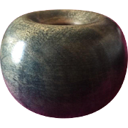 Hand-Turned Wooden Bowl