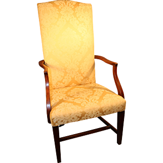 Early 19th Century Massachusetts Lolling Chair