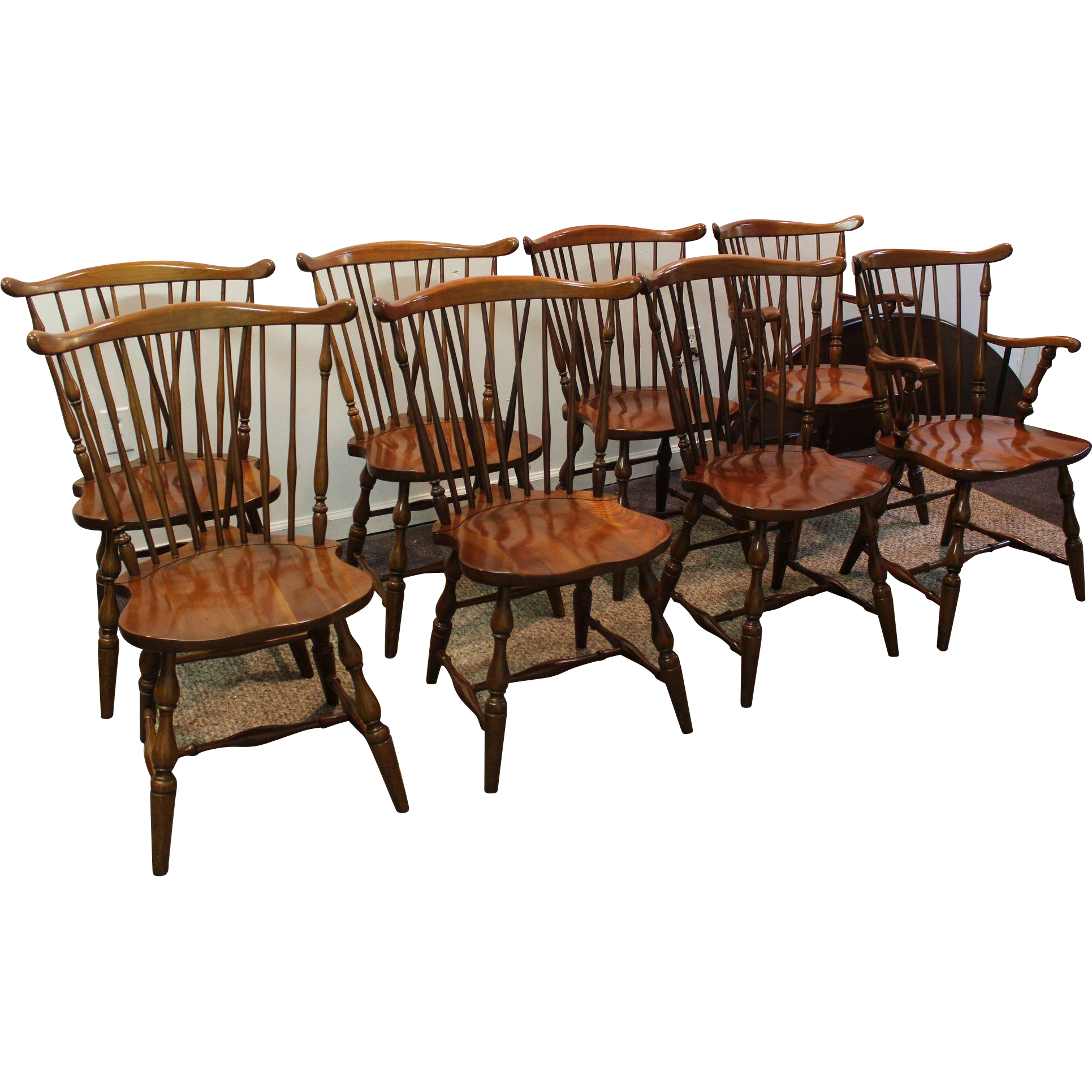 98 dining room set pennsylvania house image is for Cherry dining room chairs