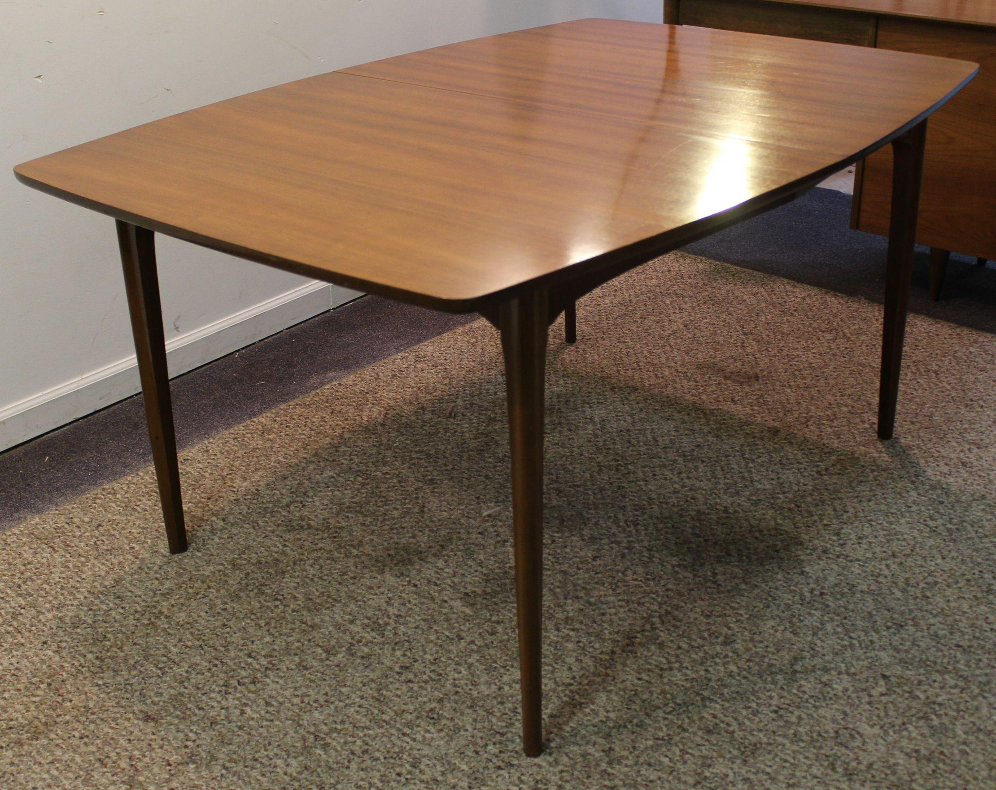 Mid Century Danish Modern Brasilia Dining Table from