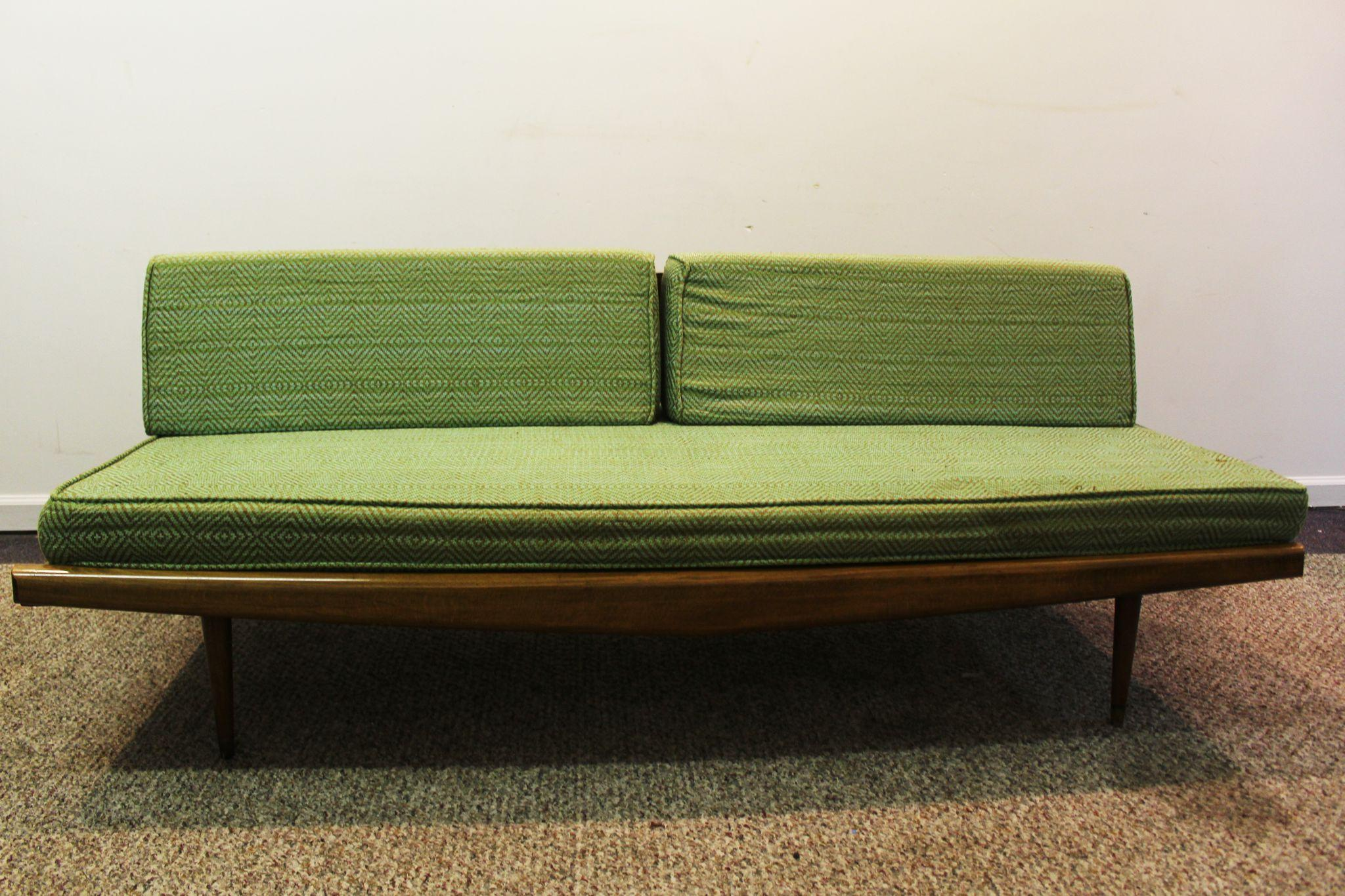 Mid Century Danish Modern Adrian Pearsall Sofa 992 from