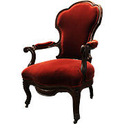 Vintage Victorian Gentleman's Chair