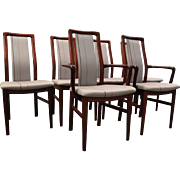 Set of 6 Mid Century Danish Modern Mobler Rosewood Dining Chairs