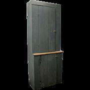 Vintage Rustic Primitive Refurbished Barn Wood Cupboard