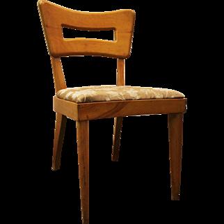 Mid-Century Danish Modern Heywood Wakefield Wheat Side Dining Chair