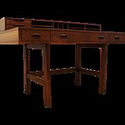 Mid Century Danish Modern Peter Lovig Nielsen Style Scova Flip Top Desk