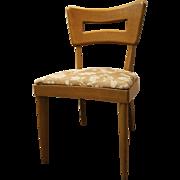 Mid-Century Danish Modern Heywood Wakefield Wheat Side Dining Chair #2
