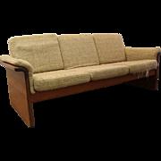 Mid-Century Danish Modern Teak Mobler 3-Cushion Sofa