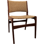 Mid-Century Danish Modern Hans Wegner Style Teak Dining Chair #1