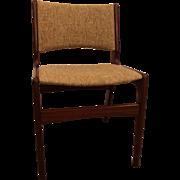 Mid-Century Danish Modern Hans Wegner Style Teak Dining Side Chair #2
