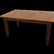 Mid-Century Danish Modern Teak Extendable Dining Table #4