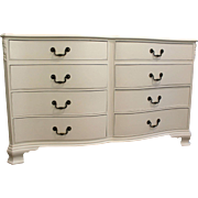 Country French White Chalk Painted Dresser