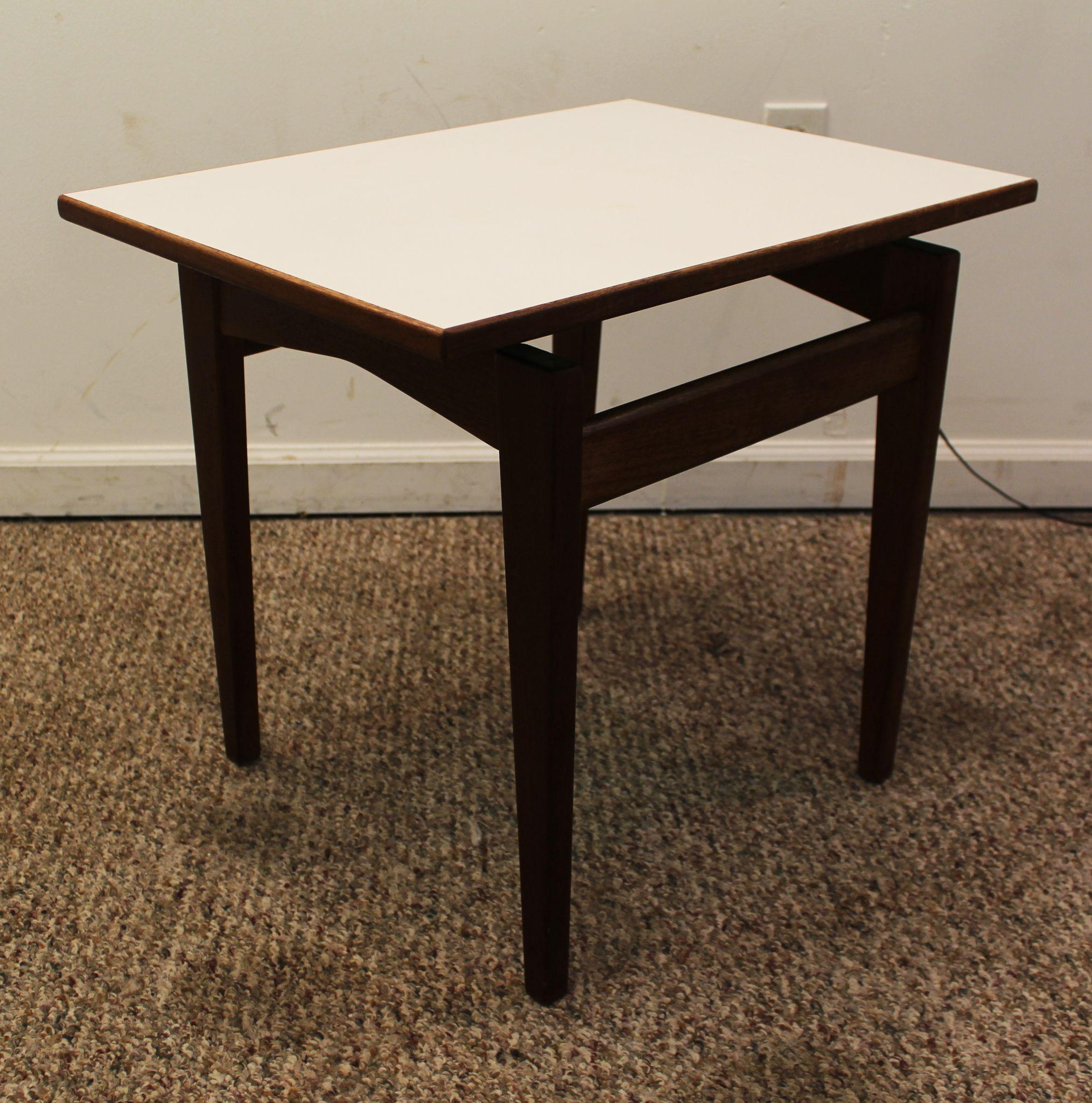 Floating Coffee Table Mid Century Danish Modern Floating Top Jens Risom Side Table From