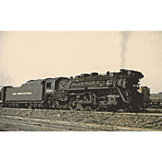 NYC RR Steam Engine Locomotive #2385 at SCHENECTADY, NY. Photo is 5 3/8 X 3 1/2 IN.  Postcard Excellent Unposted Condition, Sharp Focus. Built 1924