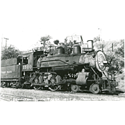 Railroad RR Southern Pacific Steam Engine Photo #1500, RPPC UNPOSTED
