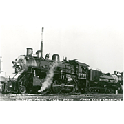 Railroad RR Southern Pacific Steam Engine Photo #1726 RPPC UNPOSTED