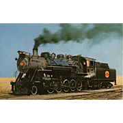 STRASBURG RR Steam Engine Locomotive #90, Built Early '20's.  Unposted Excellent Condition