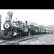 Sierra RR Railroad Locomotive Engine #3 Used for Movie and TV Train Scenes, RPPC Excellent Condition Pelot Photo