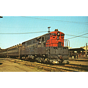 SOUTHERN PACIFIC Diesel Engine #3030. Photo IS 5 3/8 X 3 1/2 IN. RPPC. Excellent Unposted Condition, Sharp Focus.
