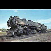 UNION PACIFIC RR  Railroad Locomotive Engine #9086  RPPC Unposted Excellent Condition