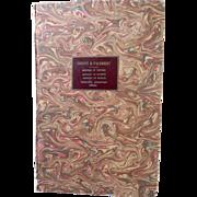 1751 Original Diderot Bound Book, 58 Engravings