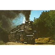 Nickel Plate Railroad RR Steam Engine #759. Photo is 5 3/8 X 3 1/2 IN. RPPC, Sharp Focus. 1971 Binghamton, NY