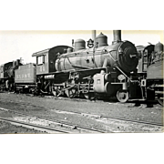 NYO&W 5 1/4 X 3 1/4 IN. BLACK & WHITE Original Photo Train Steam Engine Locomotive #44.