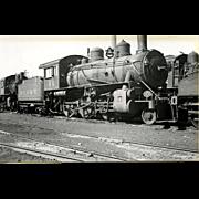 NYO&W 5 1/4 X 3 1/4 IN. BLACK & WHITE Original Photo Train Steam Engine Locomotive #44.