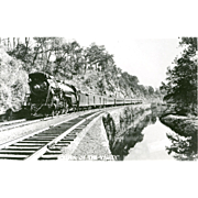 Reading RR Railroad Locomotive Engine  QUEEN of the VALLEY   RPPC, Excellent Condition, Reading Co Photo