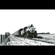 Santa Maria Valley Railroad Locomotive Engine #21 RPPC Excellent Condition